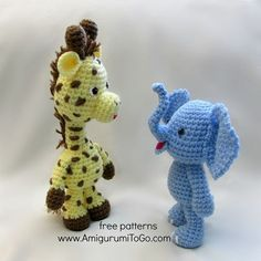Little Bigfoot Giraffe 2014, (pattern has been translated into Spanish here )     I think I love him! And one more Little Bigfoot patte...