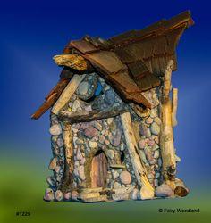 Bramble Village Fairy House #1229 - SOLD in Bramble Village Fairy Houses at Fairy Woodland