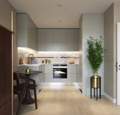 There is no question that designing a new kitchen layout for a large kitchen is much easier than for a small kitchen. A large kitchen provides a designer with adequate space to incorporate many convenient kitchen accessories such as wall ovens, raised. Kitchen Layout U Shaped, Small U Shaped Kitchens, Kitchen Interior, New Kitchen, Kitchen Decor, Kitchen Ideas, Ranch Kitchen, Long Kitchen, Narrow Kitchen
