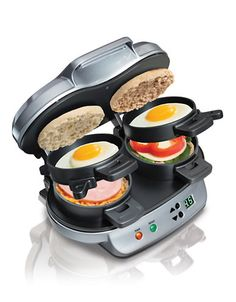 Back to School | Eat | Dual Breakfast Sandwich Maker | Hudson's Bay - $59.99