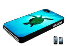 Sea Turtle iPhone 4, 4s or 5 Back Case Cover on Etsy, $11.75