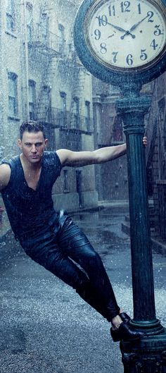 Channing Tatum by Annie Leibovitz for Vanity  Fair August  2015