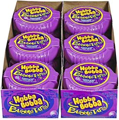 Hubba Bubba Bubble Tape, Gushing Grape, 6 Feet of Gum, 12 Count Chocolate Candy Brands, Chocolate Pack, Chocolate Gifts, Little Girl Toys, Toys For Girls, Cute Spiral Notebooks, Gum Flavors, Minnie Mouse Toys, Kids Winter Fashion