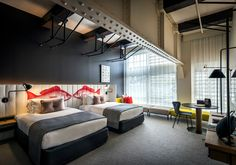 Sydney's century old wharf in iconic Woolloomooloo is now home to Sydney's hottest new hotel, Ovolo Woolloomooloo, following a bold transformation designed by Melbourne-based practice Hassell to appeal to a new generation of travellers.