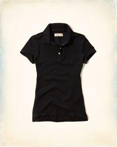 Girls Silver Strand Polo | Girls Tops | eu.HollisterCo.com