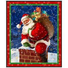 Whether you are naughty or nice, Gifts from Santa will deliver an awesome project! The main panel is beautifully detailed and supported with allover patches, colorful snowflake blenders and a fun plaid! Start a Christmas tradition with a beautiful quilt m