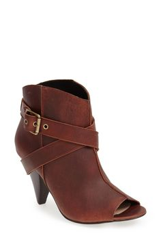 'Dafne' Leather Bootie (Women) by Arricci on @nordstrom_rack