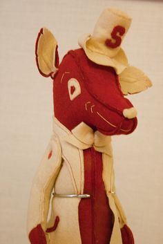 An early version of Mr. Wuf (NC State University), via Flickr
