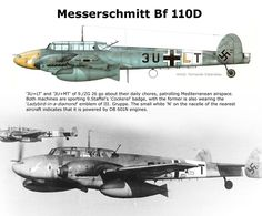 Bf 110D ZG26