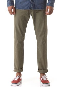 #planetsports CARHARTT - Buccaneer Chino Pant oasis rinsed