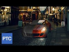 Compositing 3D Models Into Photographs Using Photoshop - YouTube