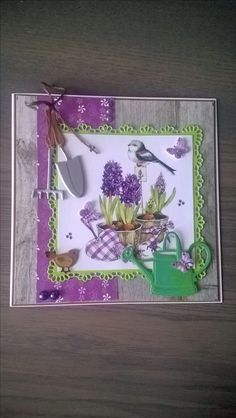 Marianne Design, Card Making, Scrapbooking, Gardening, How To Make, Decor, Lawn And Garden, Cards, Paper