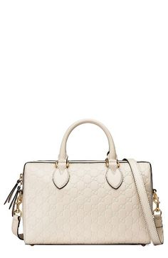 gucci bags at nordstrom. gucci medium signature top handle leather satchel available at # nordstrom bags o