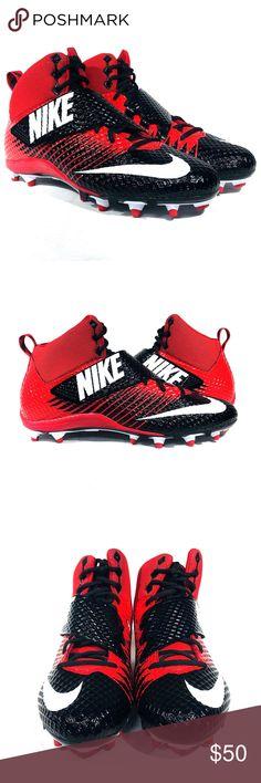 de1e06db8 Nike LunarBeast Strike Pro TD Red Football Cleats Nike LunarBeast Strike  Pro TD Red Football Cleats