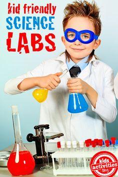 Lots of Kid-friendly science ideas!