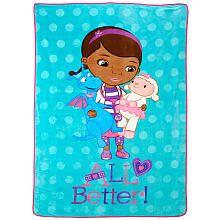 "Doc McStuffins 62 x 90 inch Blanket - Jay Franco & Sons Inc. - Toys ""R"" Us"