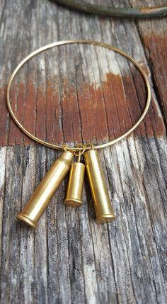 Bullet bracelet by RepurposedRounds on Etsy