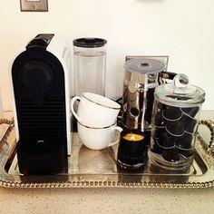 for the new nespresso machine!!!