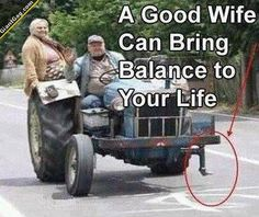 A Good Wife Can Bring Balance To Your Life | Click the link to view full image and description : )
