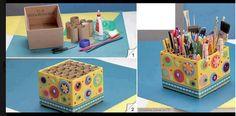 Activité manuelle : Pour bien ranger le matériel des enfants