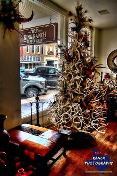 95235f26e6f Texas Christmas Tree - I m guessing from nearby Kingsville. Melissa Kaulfus  · Christmas · Kings Ranch Scarf -- Navy vintage ...