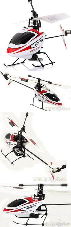 Remote-Controlled Toys 84912: Wl Toys V911 4Ch Mini Gyro Rc Ready To Fly Helicopter, Red -> BUY IT NOW ONLY: $49.9 on eBay!