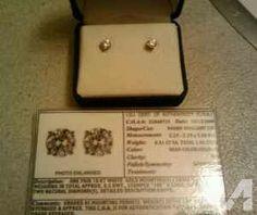 Diamond Earrings - $1500 (Redmond)