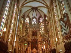 Innenansicht Erfurter Dom