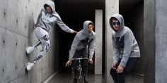 Un guardaroba urbano per nuova collezione Emporio Armani Remix