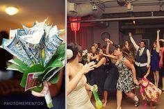 Toss bouquet, great idea! @Loree Huttinger @Cara Becker