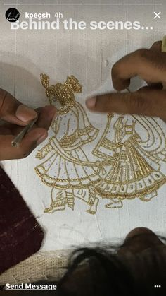 Zardozi Embroidery, Embroidery Works, Creative Embroidery, Hand Embroidery Designs, Beaded Embroidery, Embroidery Stitches, Embroidery Patterns, Machine Embroidery, Embroidery Fashion