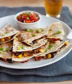 Watch the video to learn how to make the best quesadillas at home.