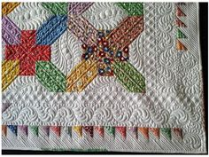 The block is cute, but the quilting takes it to a whole new level!..