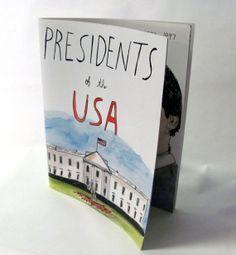 Presidents of the USA book by ElizabethGraeber on Etsy
