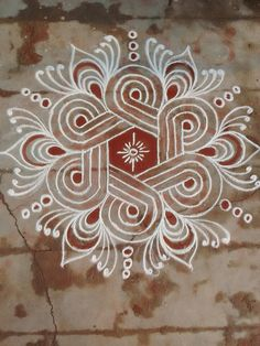 Explore latest easy rangoli design image ideas collection for Diwali. Here are amazing simple rangoli designs to decorate your home this festive season. Rangoli Designs Latest, Rangoli Designs Flower, Rangoli Border Designs, Small Rangoli Design, Rangoli Patterns, Rangoli Ideas, Rangoli Designs With Dots, Rangoli Designs Images, Rangoli Designs Diwali