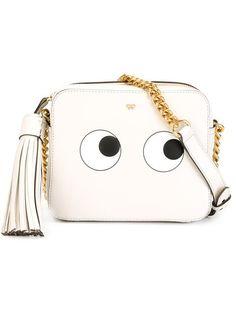 ANYA HINDMARCH 'Eyes' Shoulder Bag. #anyahindmarch #bags #shoulder bags #leather #