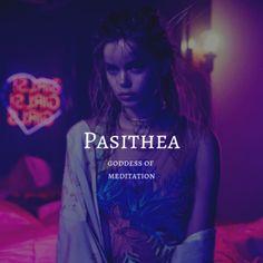 pasithea / goddess of meditation Percy Jackson, Pretty Names, Cool Names, Fantasy Character Names, Female Fantasy Names, Aesthetic Names, Southern Baby Names, Goddess Names, Greek Names