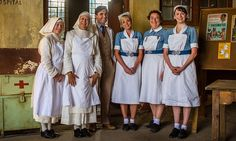 Call The Midwife cast seen filming Christmas special in South Africa