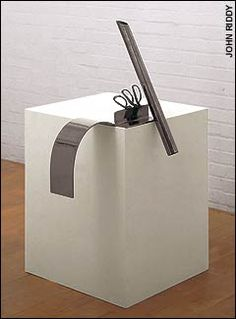 Anthony Caro rhythm of visual events placed precariously