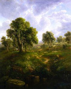 William Mason Brown (1872-1875) —  Summer Pastures,c.1856  (1023×1280)