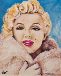 Celebrity Series Original Limited Edition Signed Art by ArtbyKVK, $50.00
