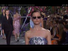 "▶ ""CHRISTIAN DIOR"" Fashion Show Spring Summer 2014 Paris by Fashion Channel - YouTube"