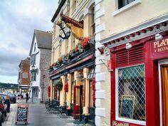 | ♕ | Street of Plymouth - Cornwall, UK | by © Francisco Vera
