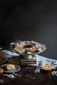 Valeria Necchio's Orange Ricotta Spelt Cake | Hortus Natural Cooking Spelt Recipes, Baking Recipes, Single Layer Cakes, School Cake, Flourless Cake, Ricotta Cake, Italian Cake, Healthy Cake, Breakfast Cake