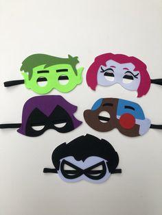 Boys Girls Superhero Capes /& Mask Teen Titans Princess Octonauts Super Mario