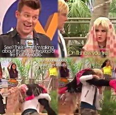 Loved this episode!!<3  i want ross to carry me.<3