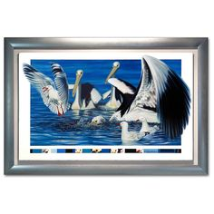 Pelican oil painting parable on canvas. The story developed as I painted the canvas. The Pelican is an amazing creature but the seagulls fear intrigued me Original Oil Painting, Fine Art, Canvas, Image, Painting, Oil Painting, Art, Pictures