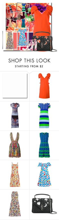 """Spring Style Diary!!"" by stylediva20 on Polyvore featuring MSGM, Jean-Paul Gaultier, Walter Van Beirendonck, Camilla, M Missoni, Emilia Wickstead, Isolda, Yves Saint Laurent and Monique Lhuillier"