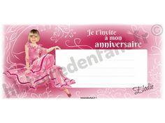 Ce sont des cartes d'invitation d'anniversaire personnalisées avec la photo et le prénom de l'enfant. Plusieurs thèmes vont être prochainement mis en ligne sur le site.