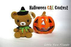 Little Yarn Friends 2nd Crochet - Along is here! - Lil' Teddy Witch We've decided to make this an annual activity so all of you ...